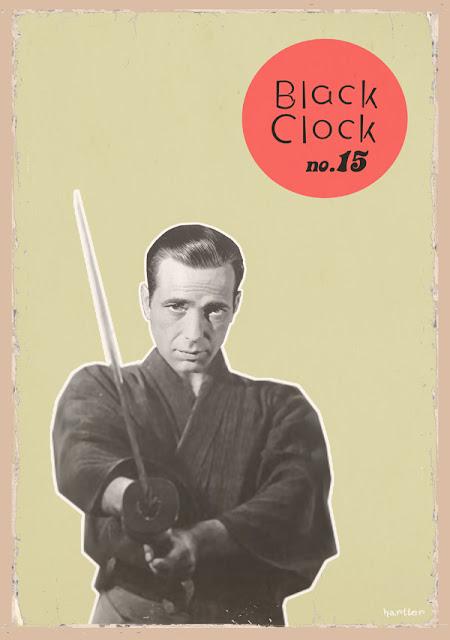 Black clock cover hartter