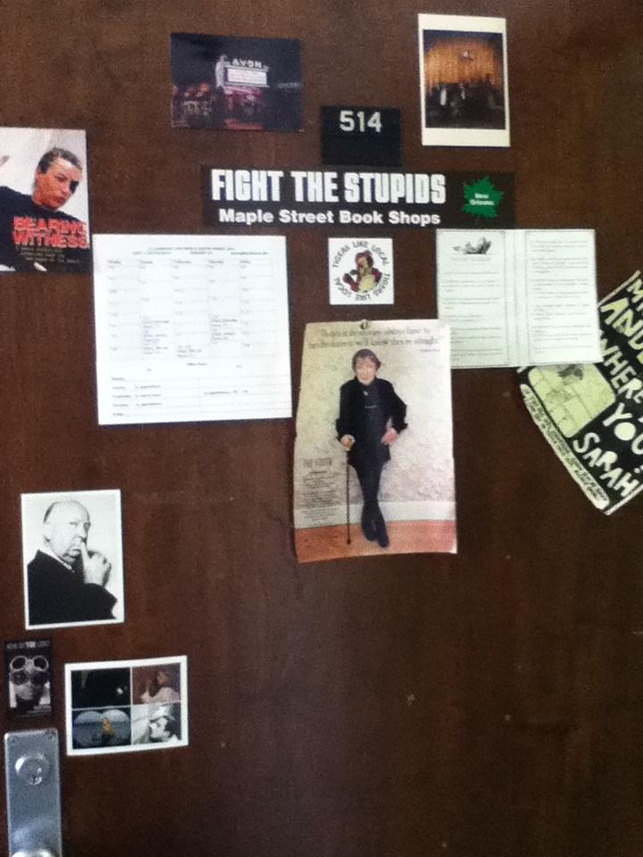 Office door