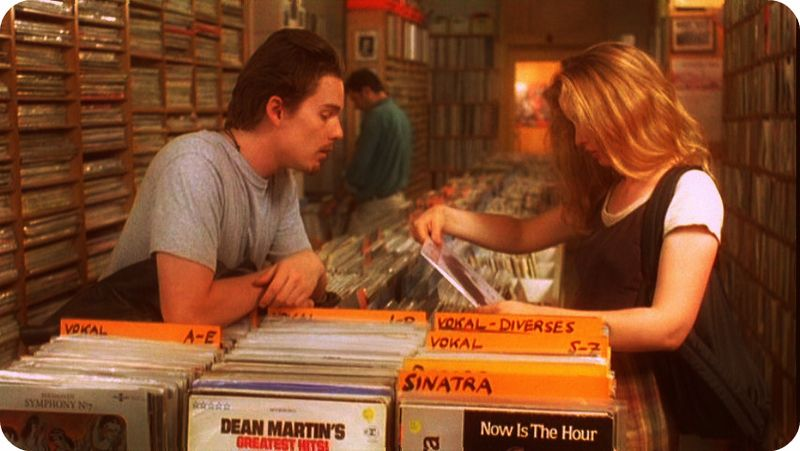 Before-sunrise-record-store-perusing